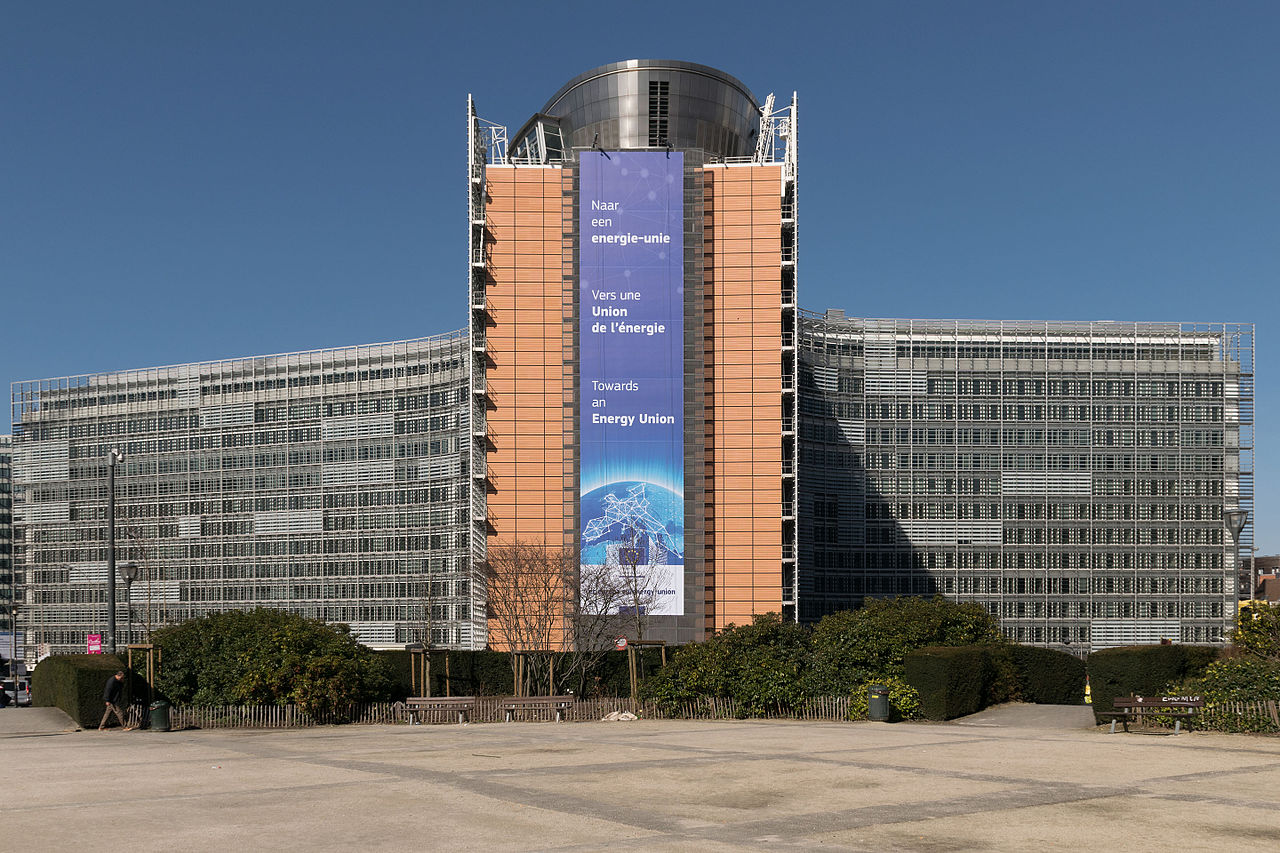 European Commission, Berlaymont building, Brussels